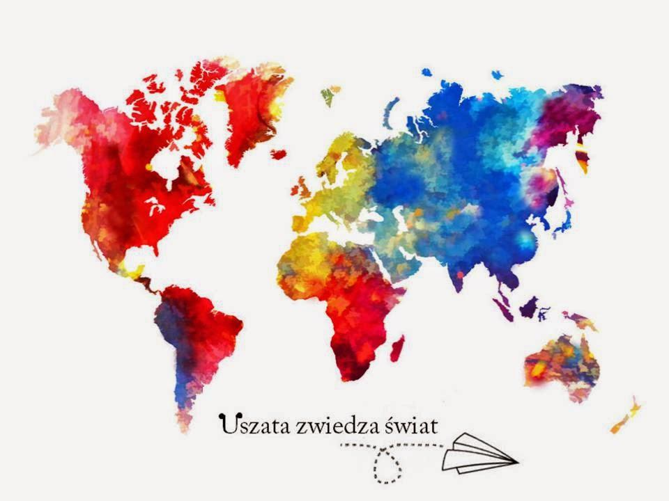 Uszata zwiedza świat