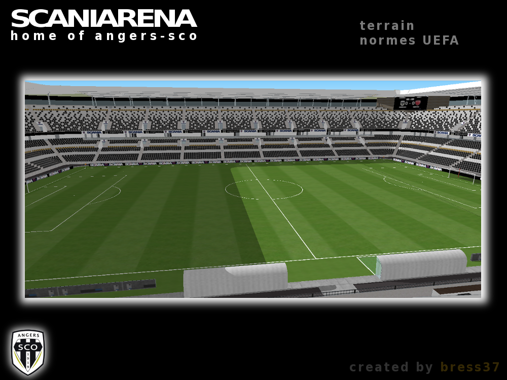 Fakefootballbybress37 Angers Sco New Stadium Design