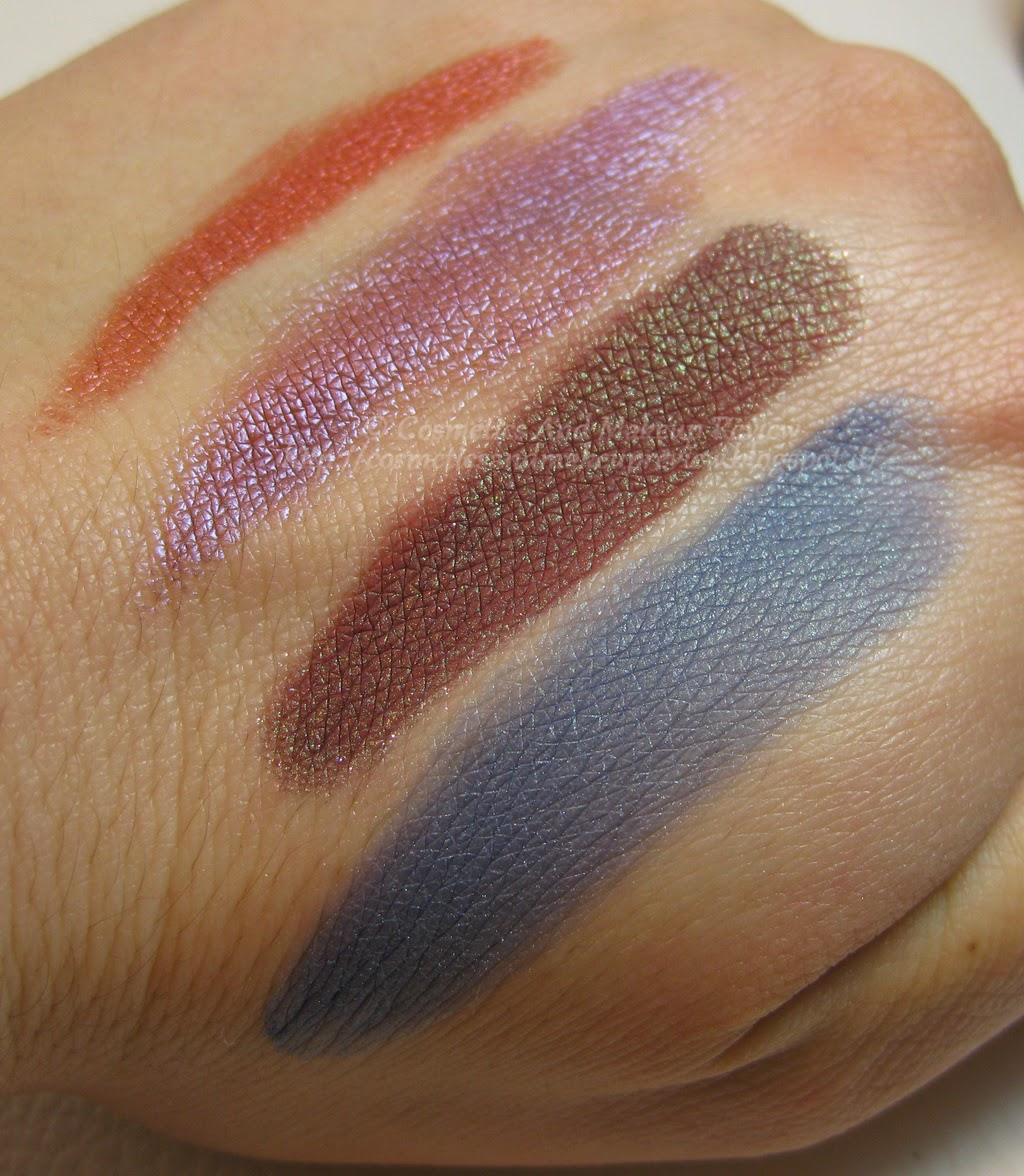 Neve Cosmetics - Pop Society Collection - Compilation, Fuseaux, Videogame, Yuppie - swatches luce neutra