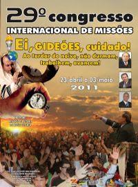 DVD - Gideões 2011 VALOR: R$ 12,90