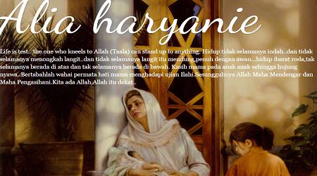 Kisah Blogger Alia Haryanie Seorang Wanita Tabah