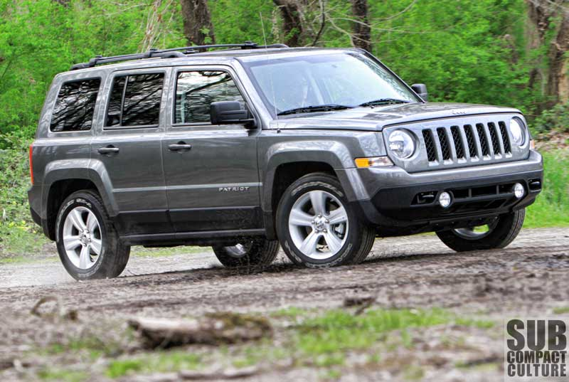 2012 Jeep Patriot Lattitude 4x4   Subcompact Culture