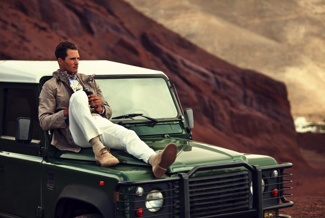 This year like last year Hackett uses a Land Rover Defender in their  spring/summer campaign, but they are not alone also Michael Kors, Ralph  Lauren and even ...