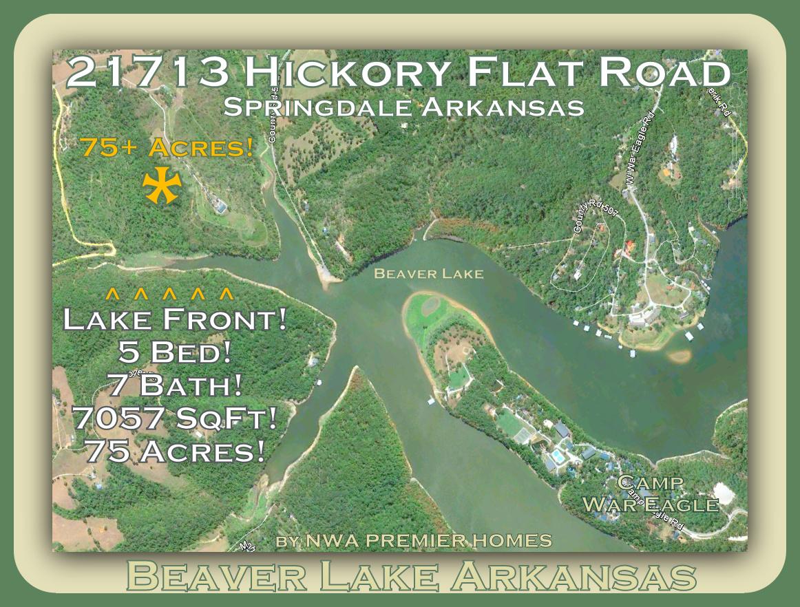 Nwa premier homes lakefront for Hickory flat