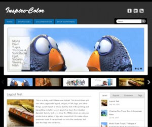Inspire Color WordPress Theme
