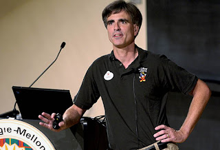 Randy Pausch giving his last lecture at Carnegie Mellon University