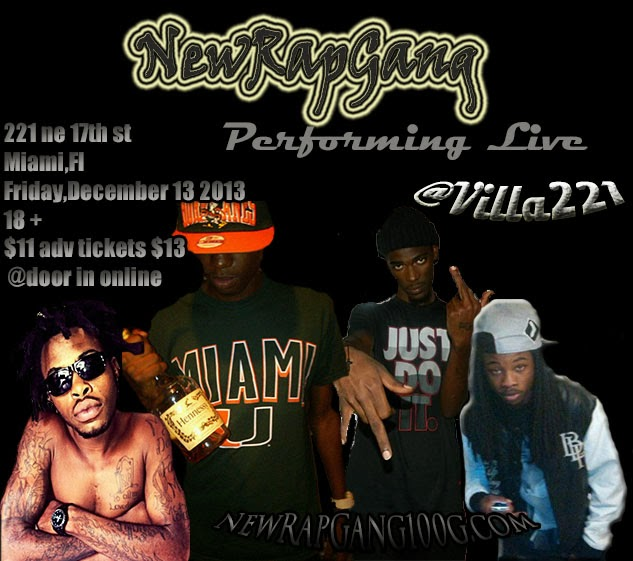 NewRapGang Performing Live