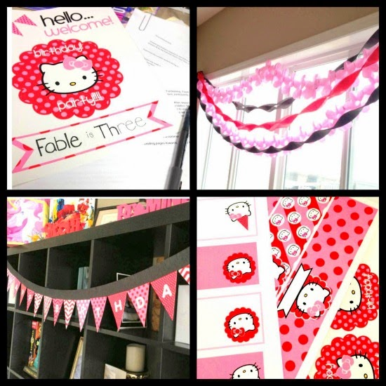 Hello Kitty Birthday Party on Best Birthdays