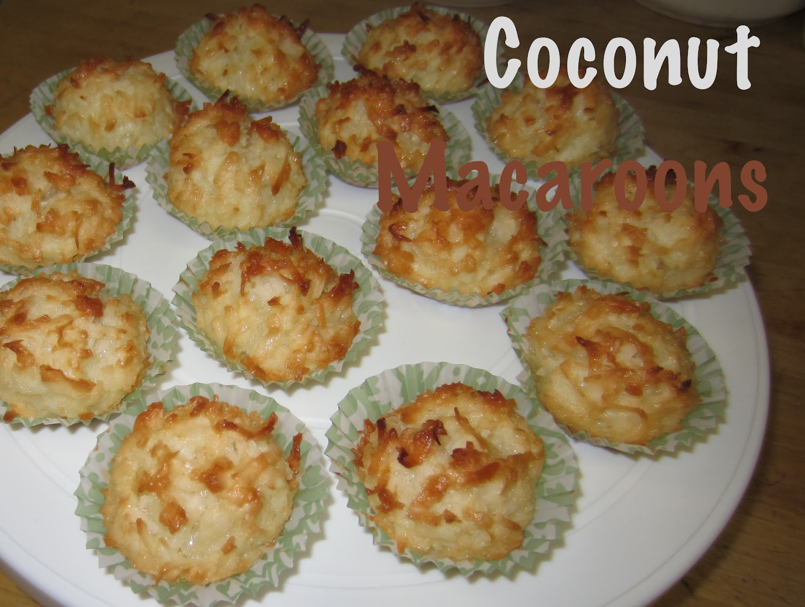 Sugar-Coated Delights: Happy Mother's Day & Coconut Macaroons!