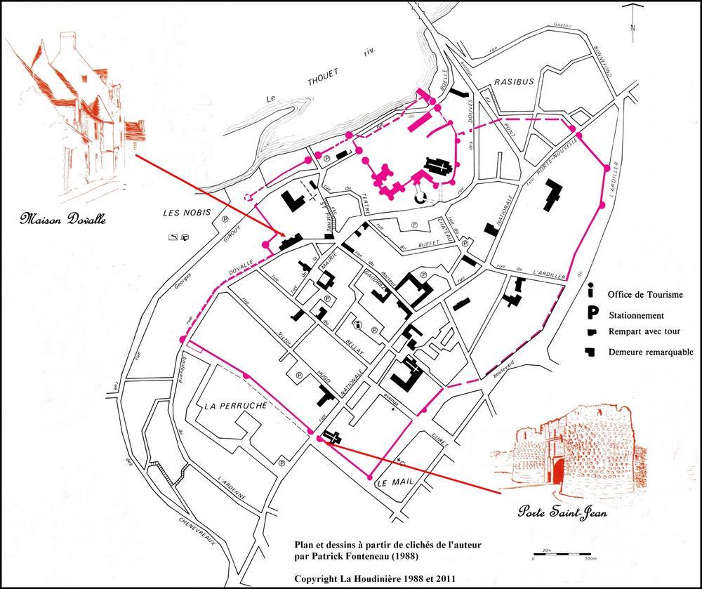Era Mairie De Montreuil Montreuil: Jacques Sigot: La Maison Dovalle à Montreuil-Bellay