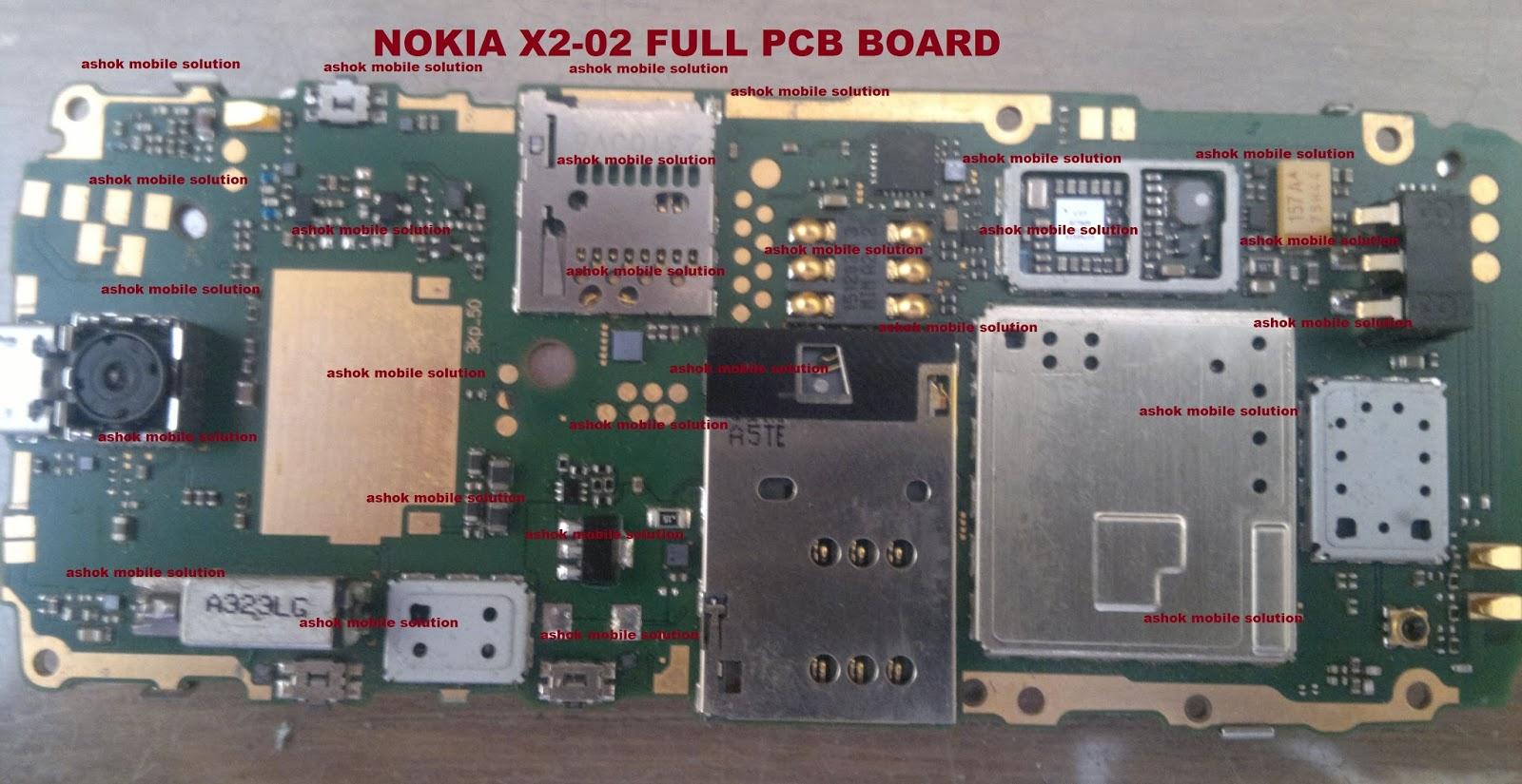 ashok mobile solution nokia x2 02 full pcb board rh samraatblogpostcom blogspot com