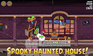 Angry Birds Seasons : Haunted Hogs