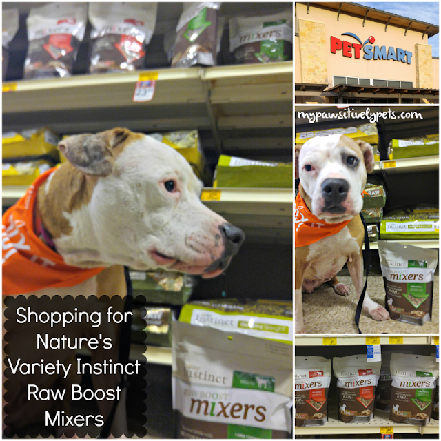 Shopping for Nature's Variety Instinct Raw Boost Mixers available at PetSmart