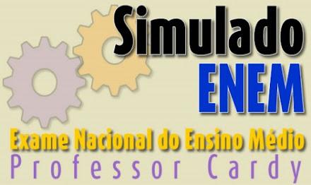 SIMULADO ENEM - Professor Cardy