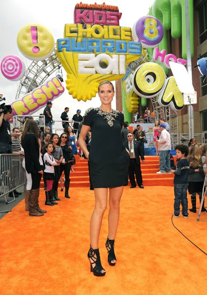 heidi klum kids choice awards. Heidi Klum at the Kids Choice