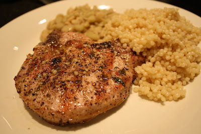 ... House: Meal No. 665: Grilled Pork Chops with Garlic Lime Sauce