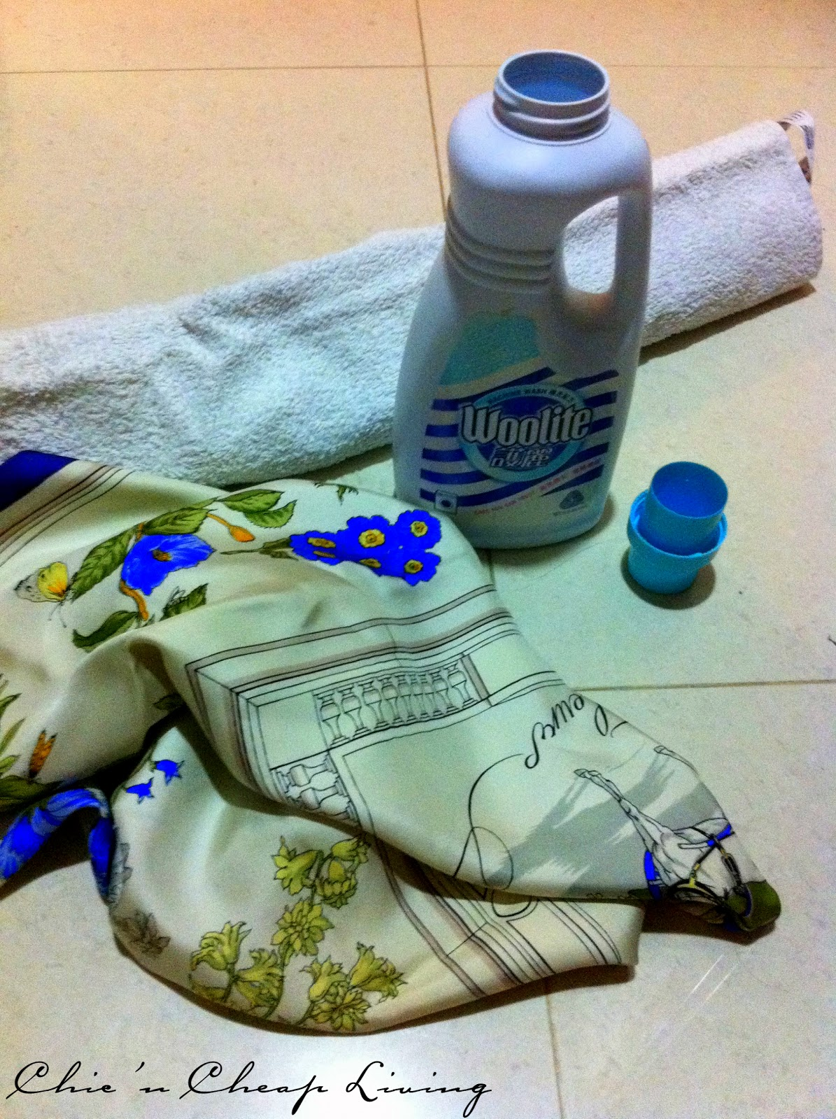 how to clean a herm 195 168 s or any silk scarf
