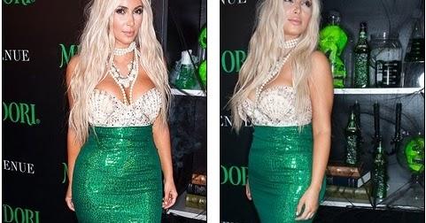 Thats How To Make A Splash Kim Kardashian Transforms