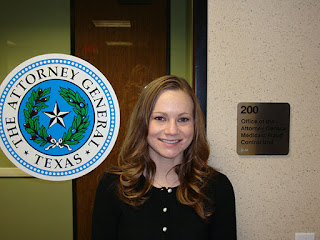 Intern Melissa McCracken worked in the Attorney General's Medicaid Fraud Control Unit.