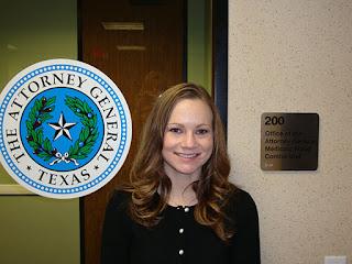 Intern Melissa McCracken worked in the Attorney General's Medicaid Fraud Control Unit.