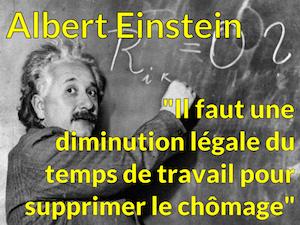 La conclusion d'Einstein
