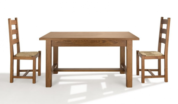 Mesas de madera maciza a medida cocinas ricardo for Mesas rusticas de madera maciza