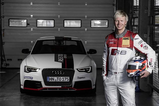 Audi RS5 TDI Competition Concept, Nicki Thiim