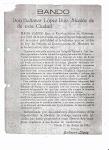 Bando de 11 de junio de 1934
