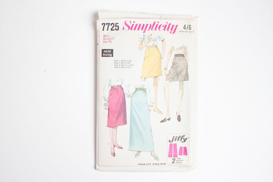 collecting vintage sewing patterns