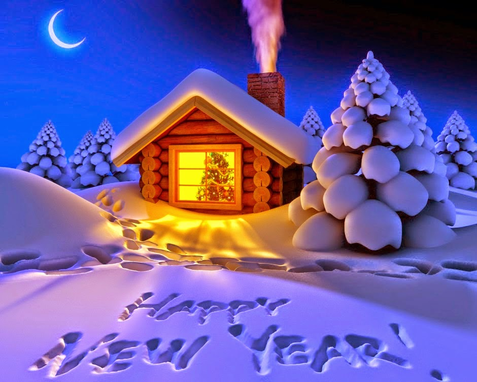 latest beautiful happy new year cards 2015 free photo cards