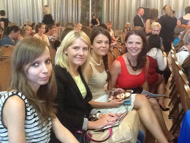 Spotkanie Oriflame z Anna Muchą-relacja ;) + mini konkurs!