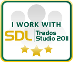 I'm using SDL Trados Studio 2011
