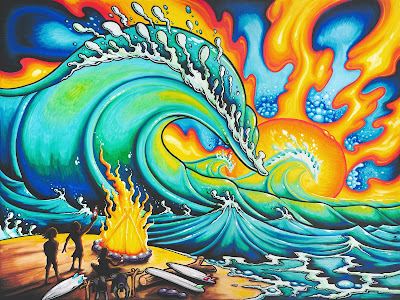 Drew Brophy surf lifestyle artist sunset sessions