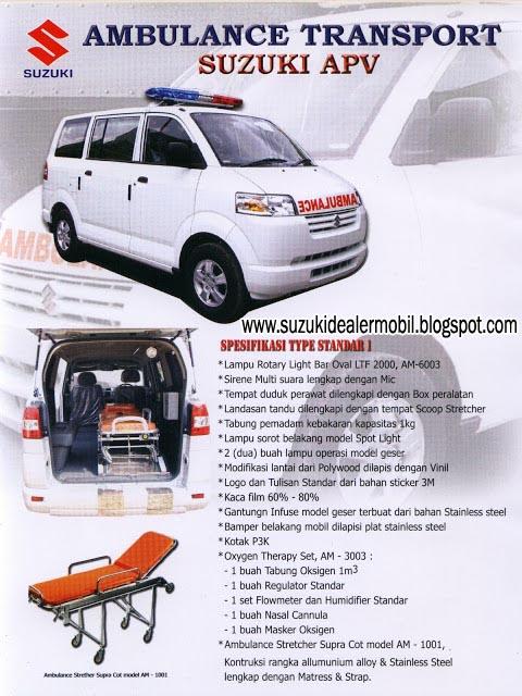 mobil ambulance apv semarang jawa tengah dealer mobil suzuki semarang. Black Bedroom Furniture Sets. Home Design Ideas