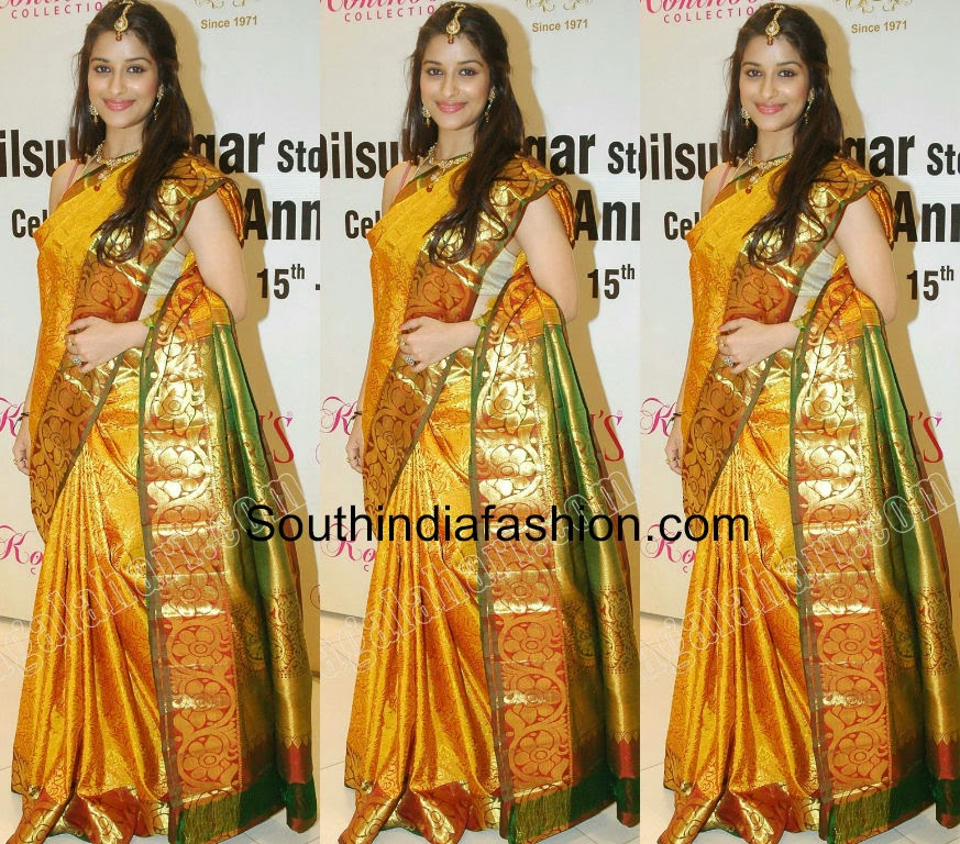 madhurima benerjee in bridal saree