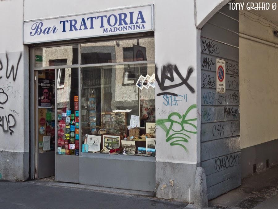 I frammenti di cultura di tony graffio un 39 osteria fuori for Bar madonnina milano