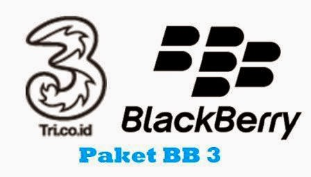 Paket Internet BlackBerry 3