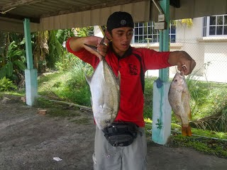 Fishing at Pulau Selirong