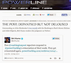 "Brit Hume ""weighs in"" on PowerLine vs. WaPo"