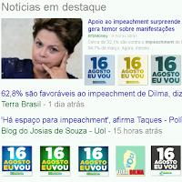 Petistas pedem impeachment e 62 porcento apoiam  ForDilma