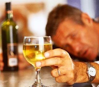 Porque à esposa alcoólica