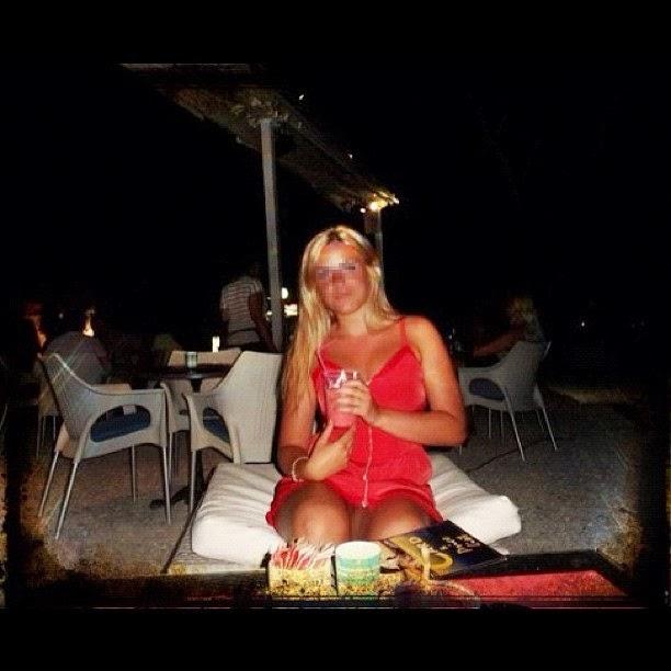 De beste verzameling van grappige fotos: blondje zonder