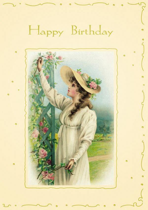 tarjetas de cumpleaños vintage