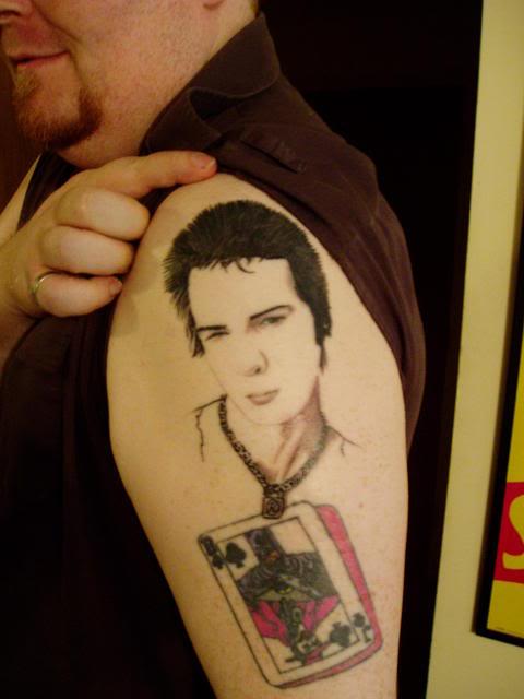 Sex pistols tattoos