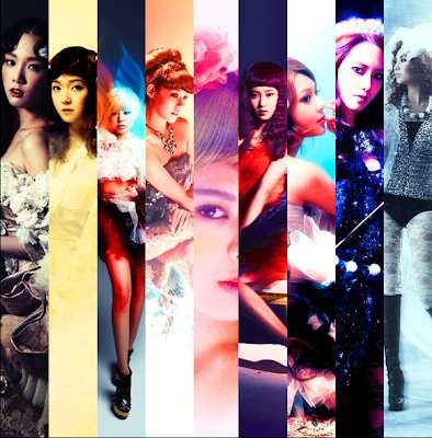 SNSD Girls' Generation The Boys photo teasers