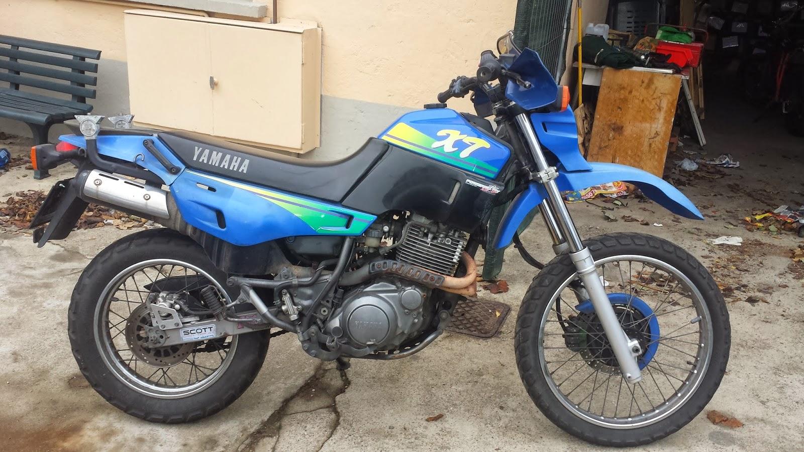 Schema Elettrico Yamaha Xt 600 : Schema elettrico xt tb club tenere italia