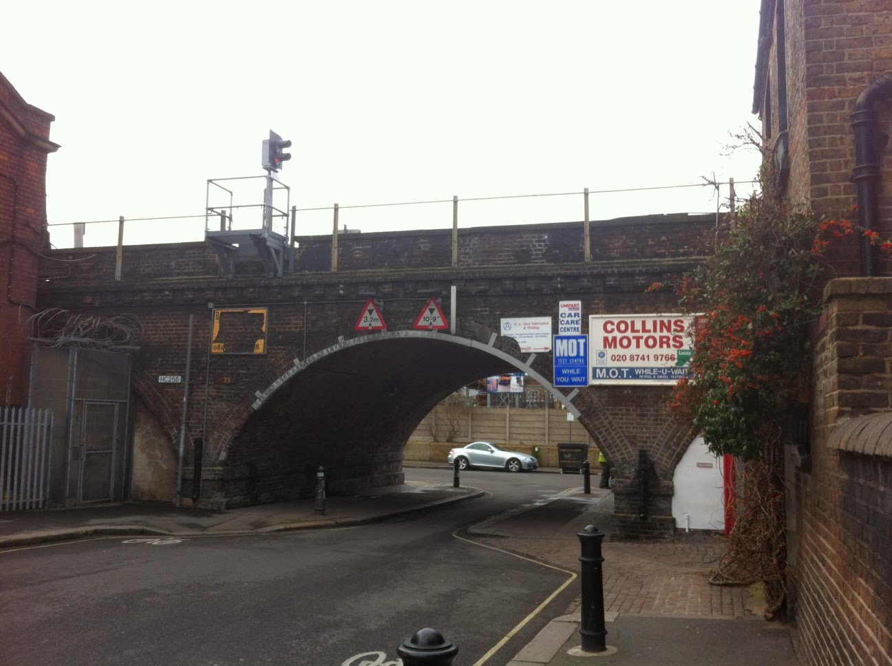 Arches beneath the Hammersmith and City Line, London W6