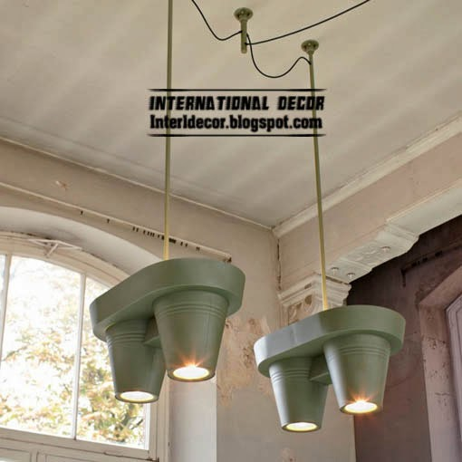Creative Ceiling lamp with hanging baskets