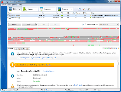auslogics disk defrag pro features defragments system files mft