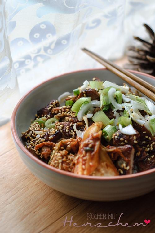 Asia-Crossover. Kimchi, Korea, Vietnam, Banh Mi